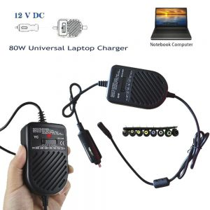 80W Universal Laptop Car Charger